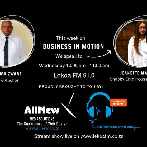 Business in Motion Podcast 5 : Jeanette Maphutsi