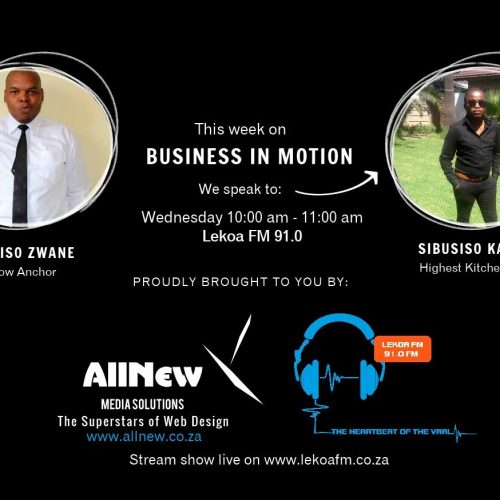 Business In Motion Podcast 3: Sibusiso Kamati