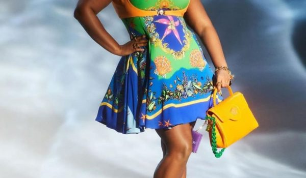 Plus-size model Precious Lee is the new face of luxury brand Versace