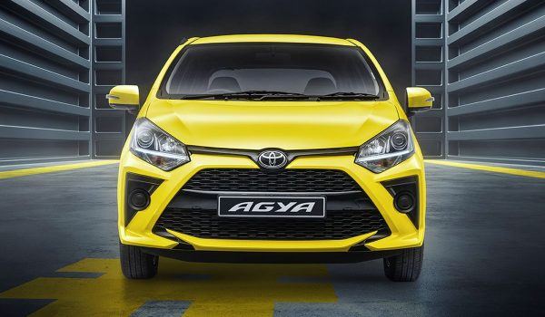 The  New Toyota Agya is Light And Fast