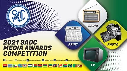 2021 SADC MEDIA AWARDS COMPETITION!