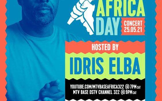 ACTOR, DIRECTOR, MUSICIAN & PHILANTHROPIST IDRIS ELBA TO HOST AFRICA DAY CONCERT 2021