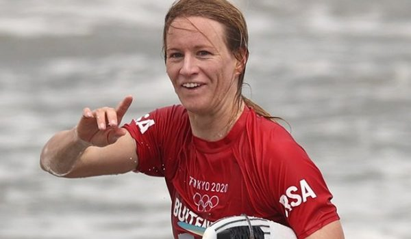 Surfer Bianca Buitendag wins Olympic silver as Team SA finds joy in Tokyo